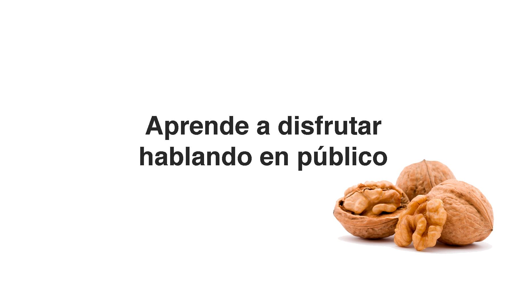Aprende a disfrutar Hablando en Público www.AntonioQuiros.com