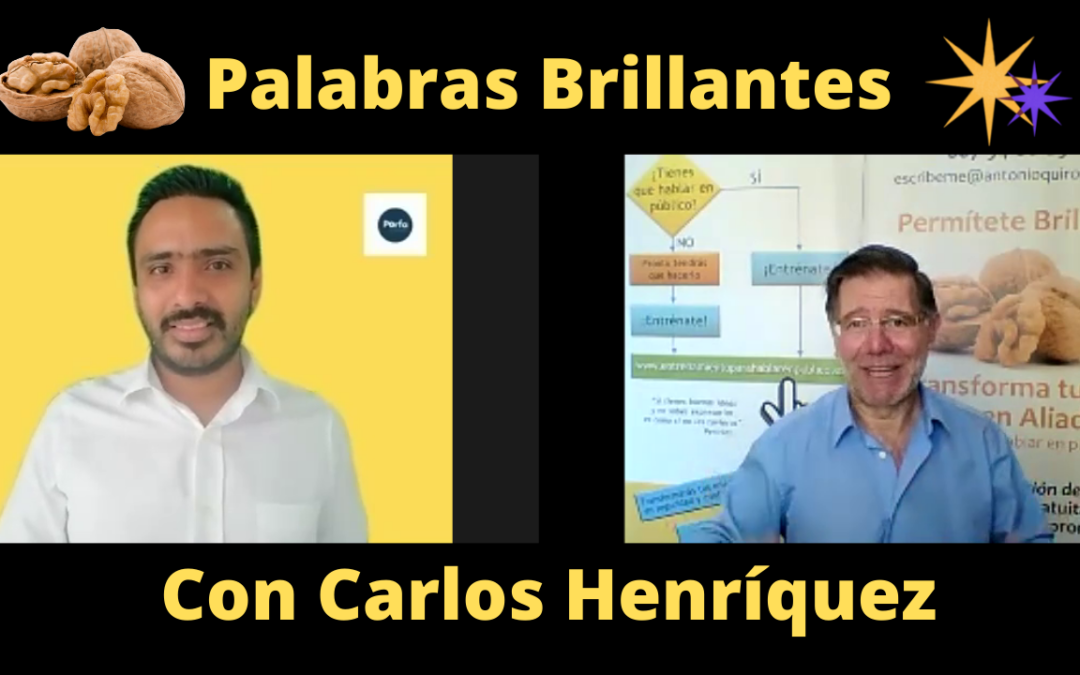 Palabras Brillantes con Carlos Henríquez