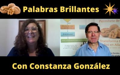 Palabras Brillantes con Constanza González
