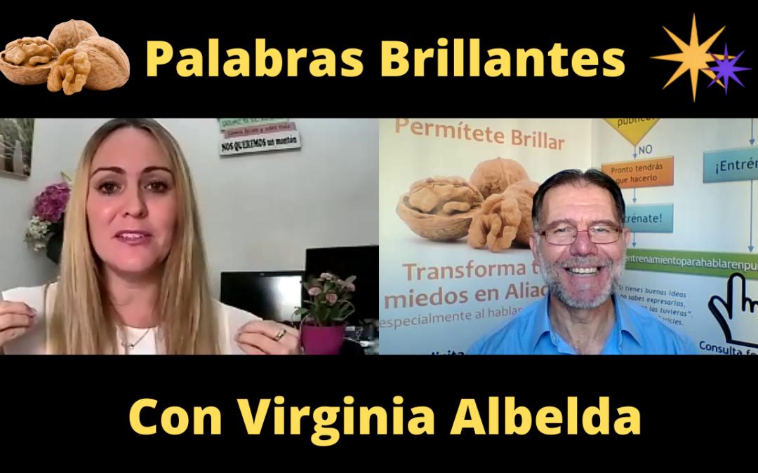 Palabras Brillantes con Virginia Albelda